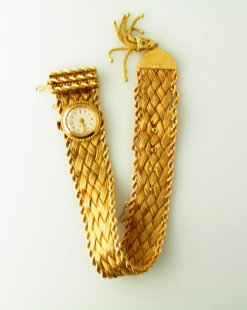 14K Yellow Gold Wristwatch | 18 Karat Appraisers | Beverly Hills, CA | Fine Jewelry