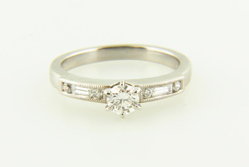 Platinum, Diamond Solitaire Ring | 18 Karat Appraisers | Beverly Hills, CA | Fine Jewelry