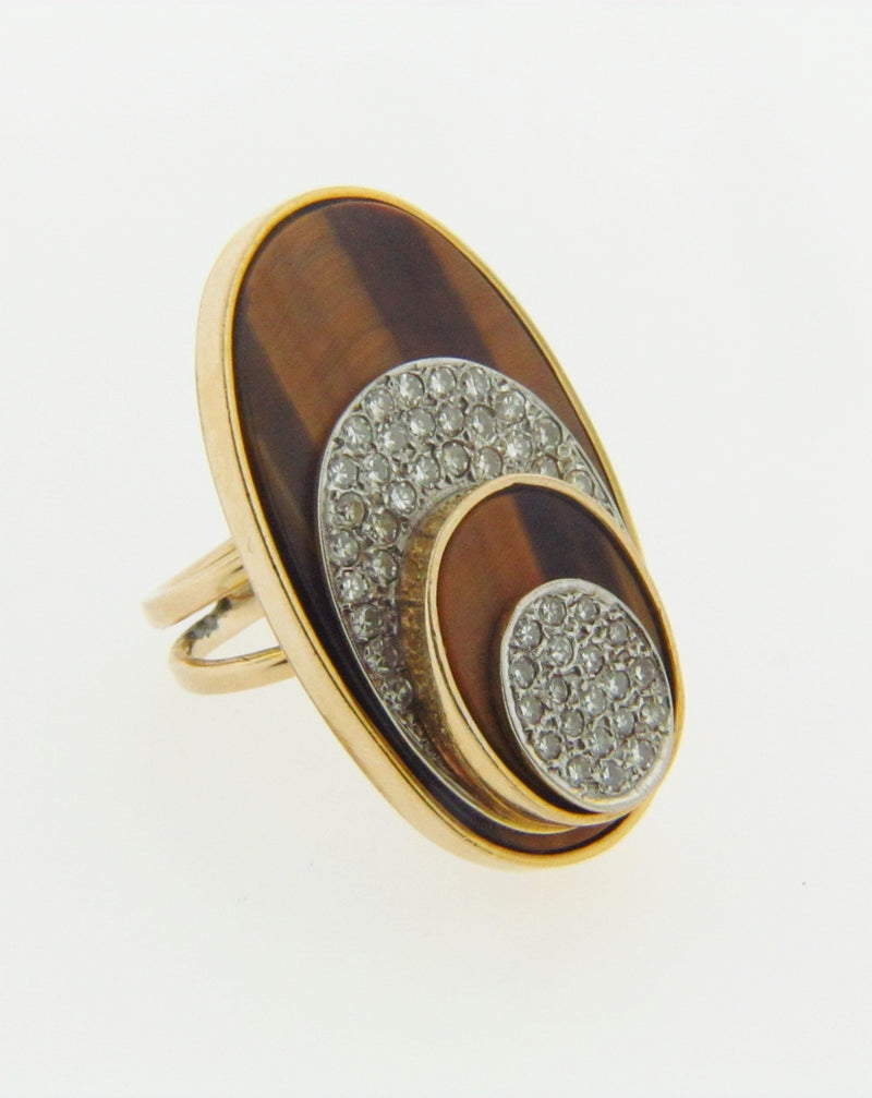 14K YELLOW GOLD AND DIAMOND RING | 18 Karat Appraisers | Beverly Hills, CA | Fine Jewelry
