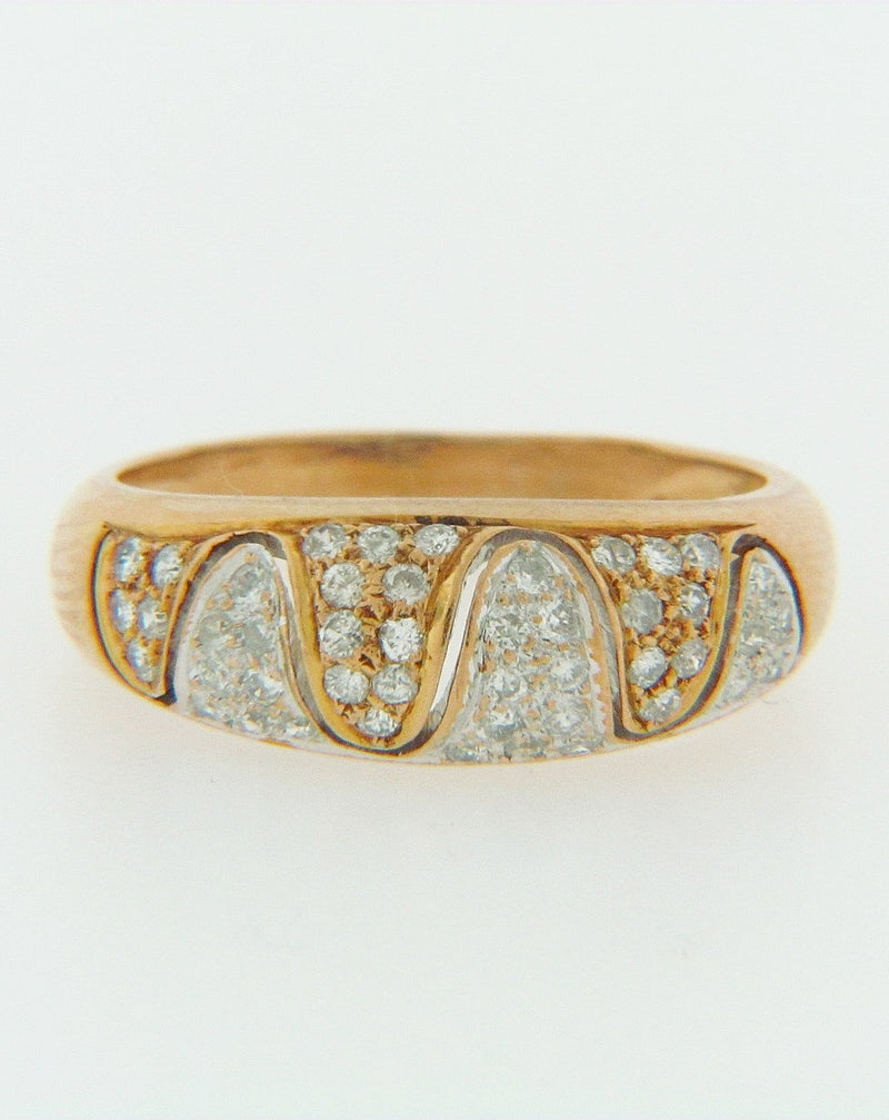 14K-YG DIAMOND RING | 18 Karat Appraisers | Beverly Hills, CA | Fine Jewelry