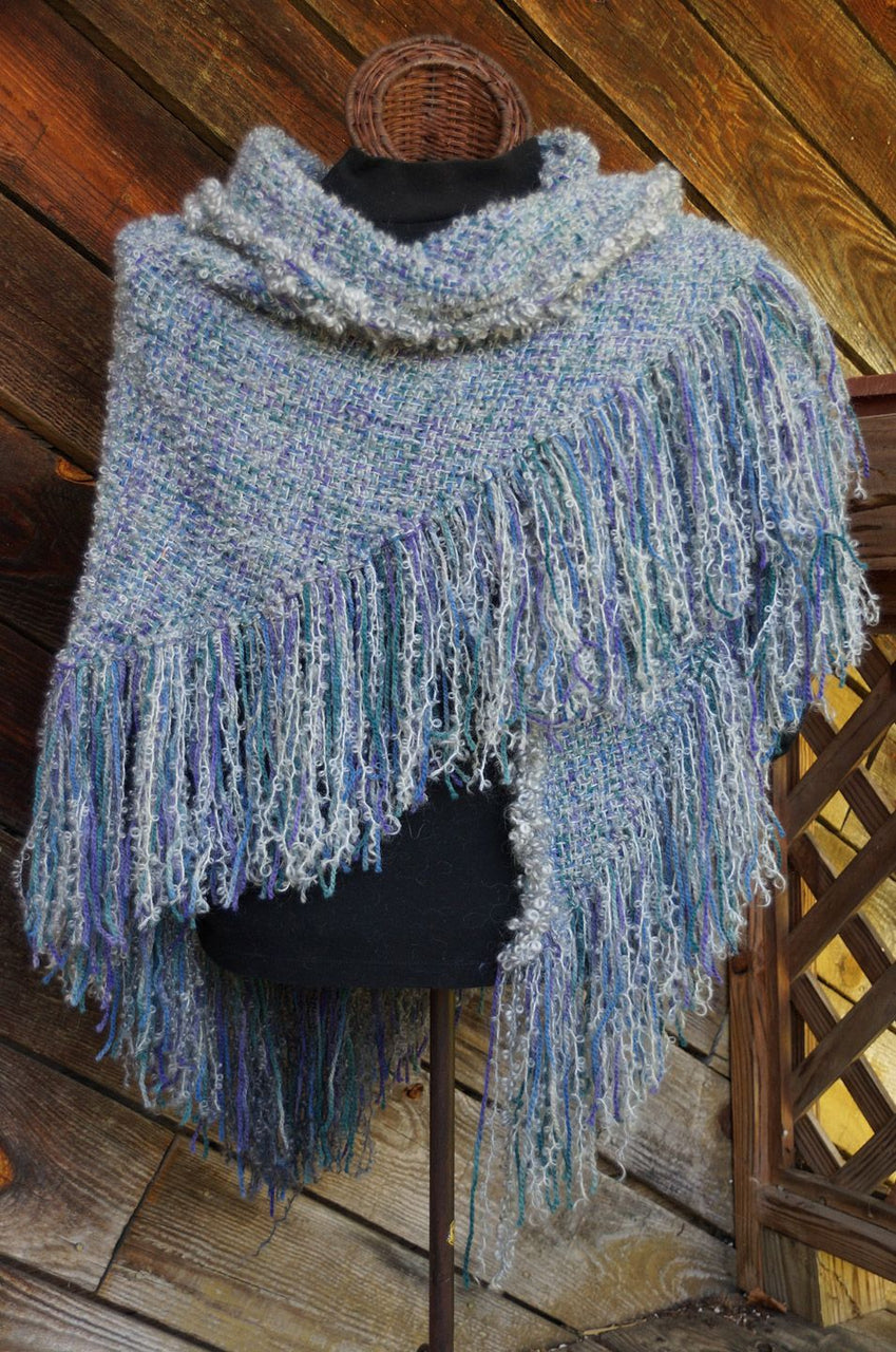 Gothic Jewels HandWoven Shawl