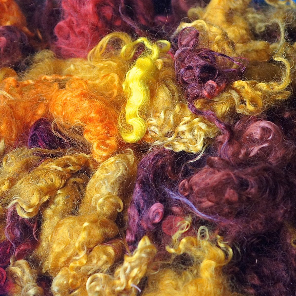 Appalachian Fall Mohair Locks