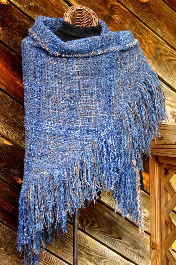 Soft Suede HandWoven Shawl