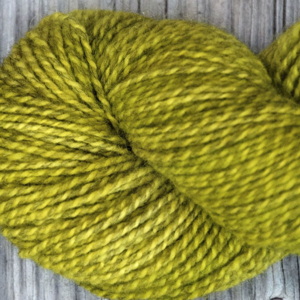 Lime Tweed Kettle-Dyed Yarn