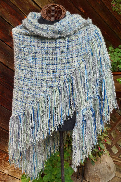 My Blue Ridge HandWoven Shawl