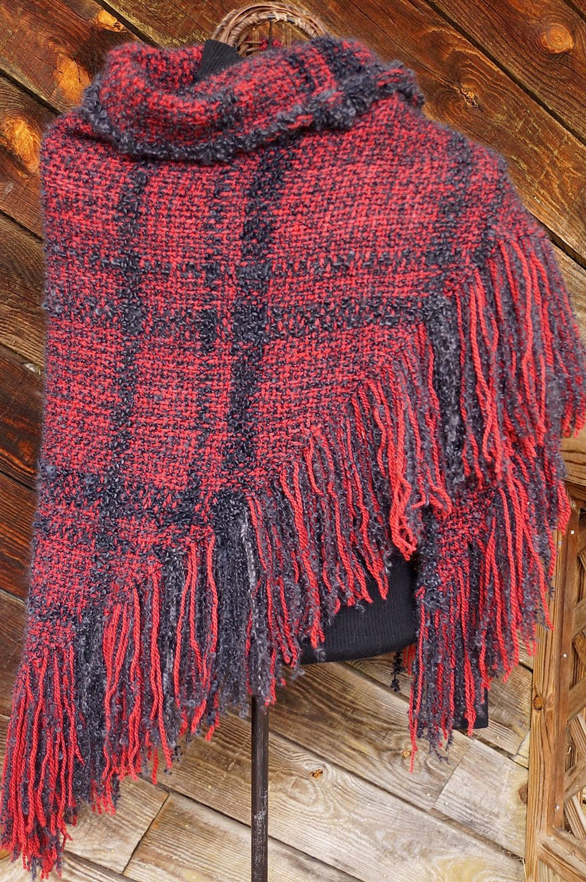 Devil's Candy HandWoven Shawl