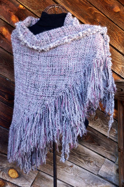 Chimney Rose HandWoven Shawl
