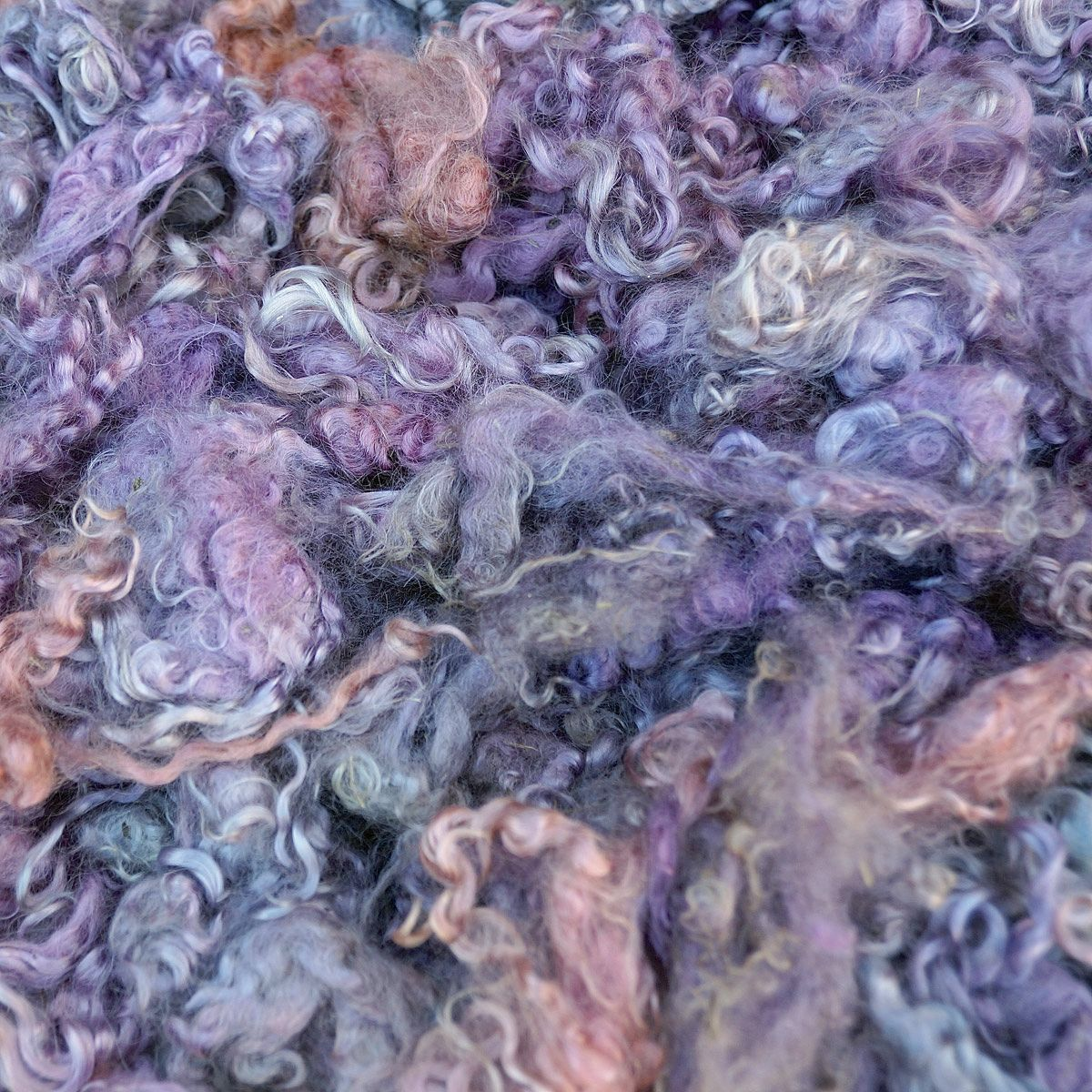 Mostly Lavender Mohair Locks