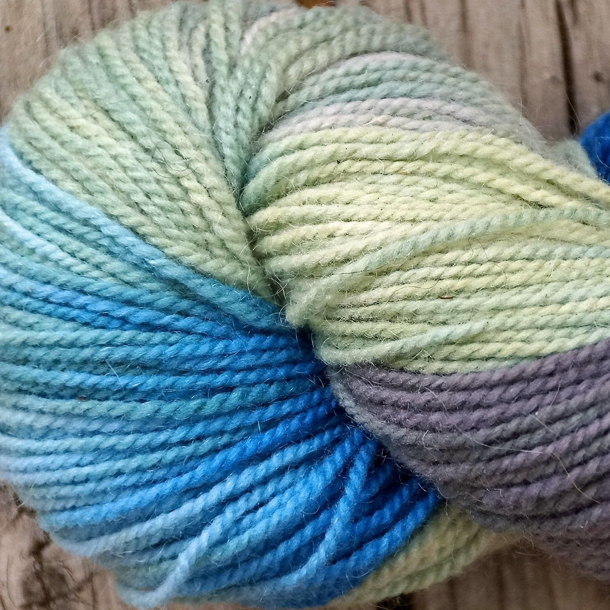 My Blue Ridge Hand-Painted Yarn
