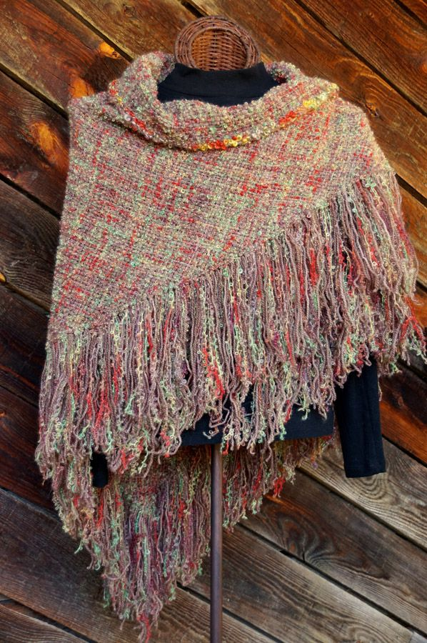 Autumn HandWoven Shawl