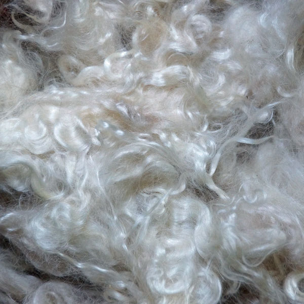Natural White Mohair Locks