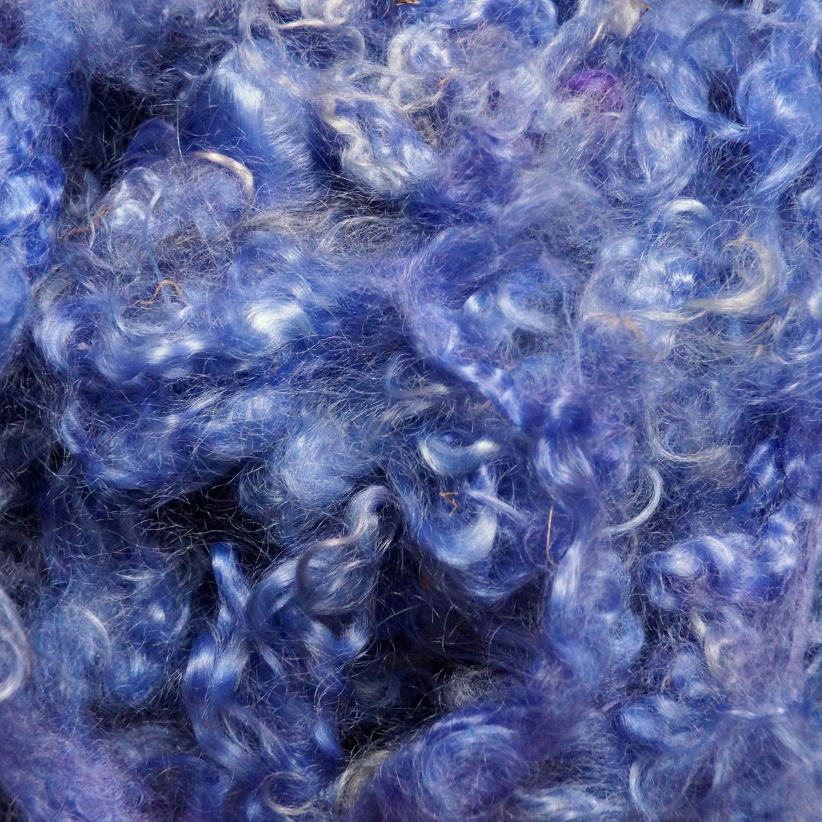 Periwinkle Mohair Locks