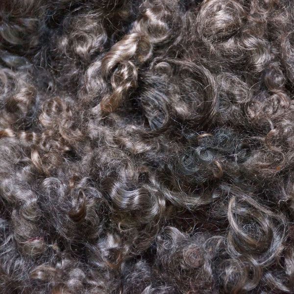 Dark Natural Mohair Locks