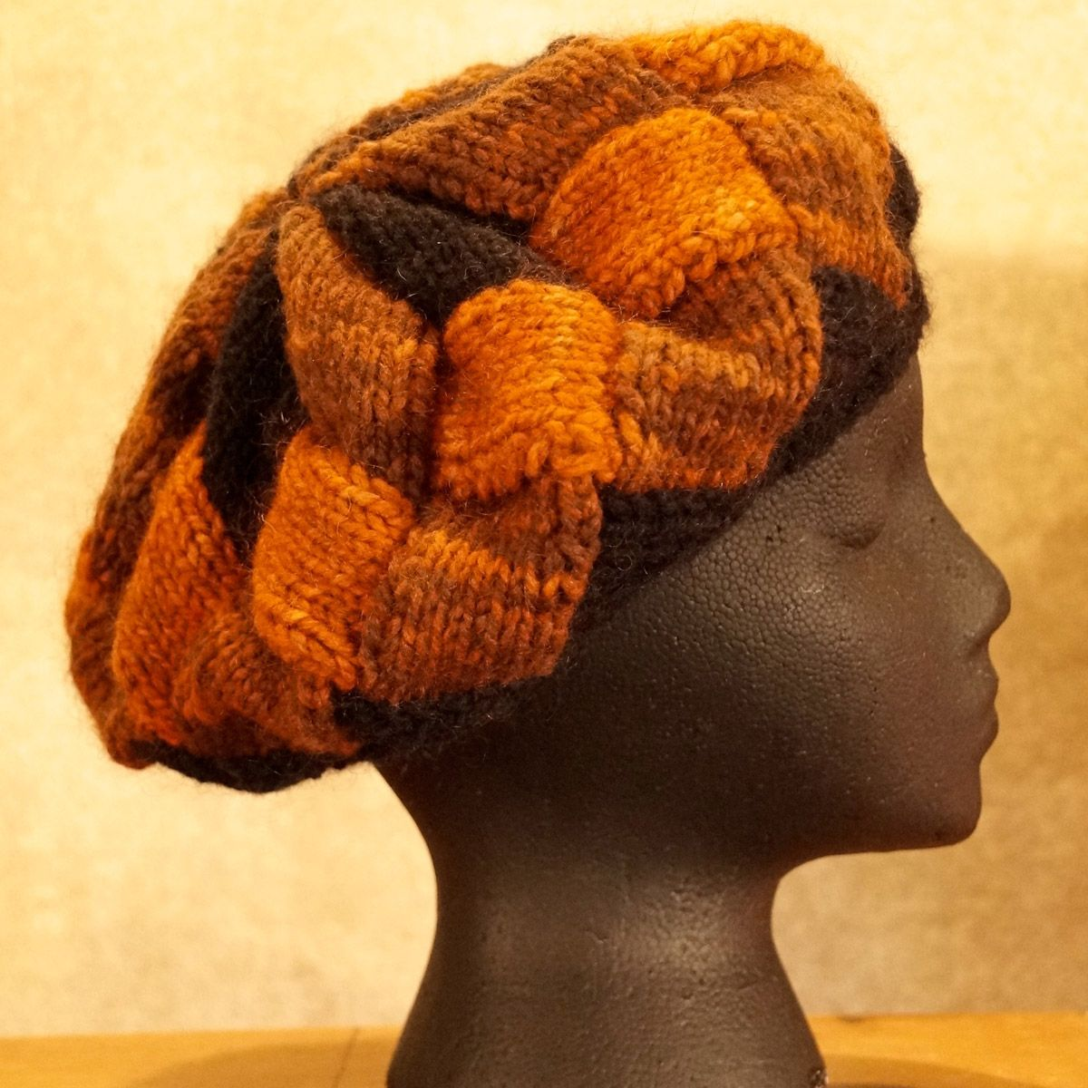 Oranges Interlock Knit Hat