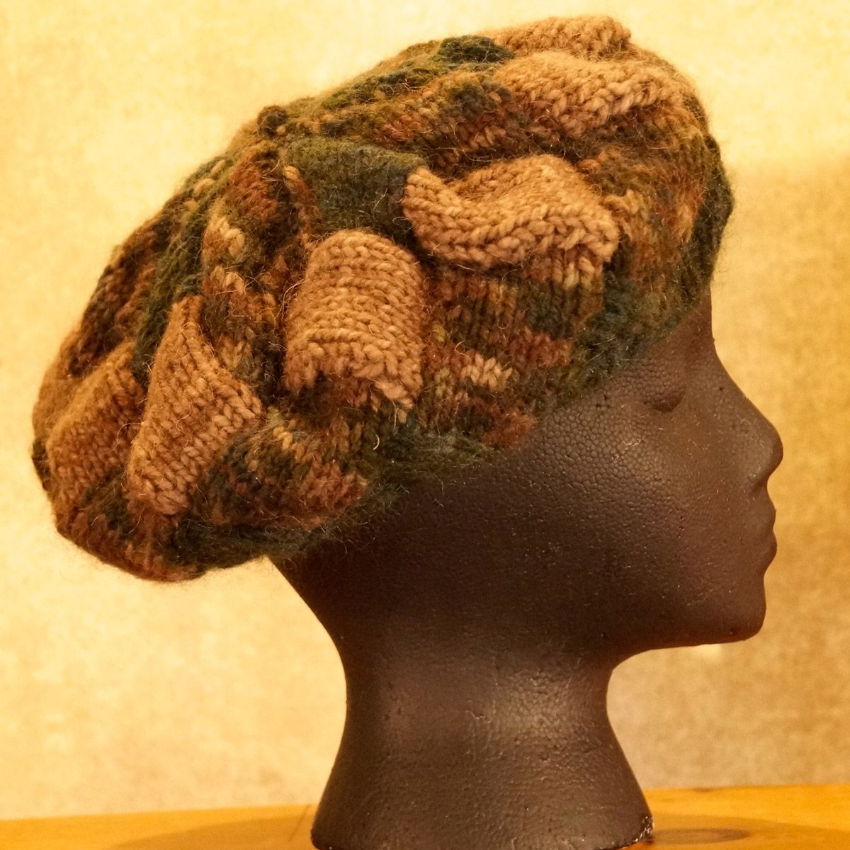 Forest Interlock Knit Hat