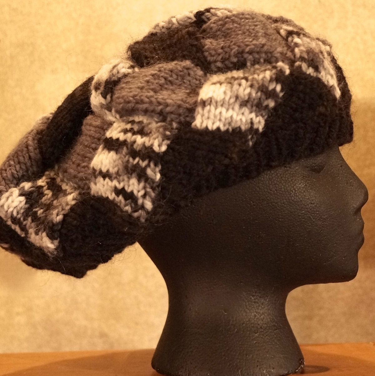 Yin 'n Yang Interlock Knit Hat