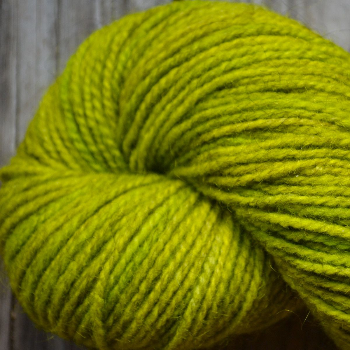 Smokey Lime Kettle-Dyed Yarn