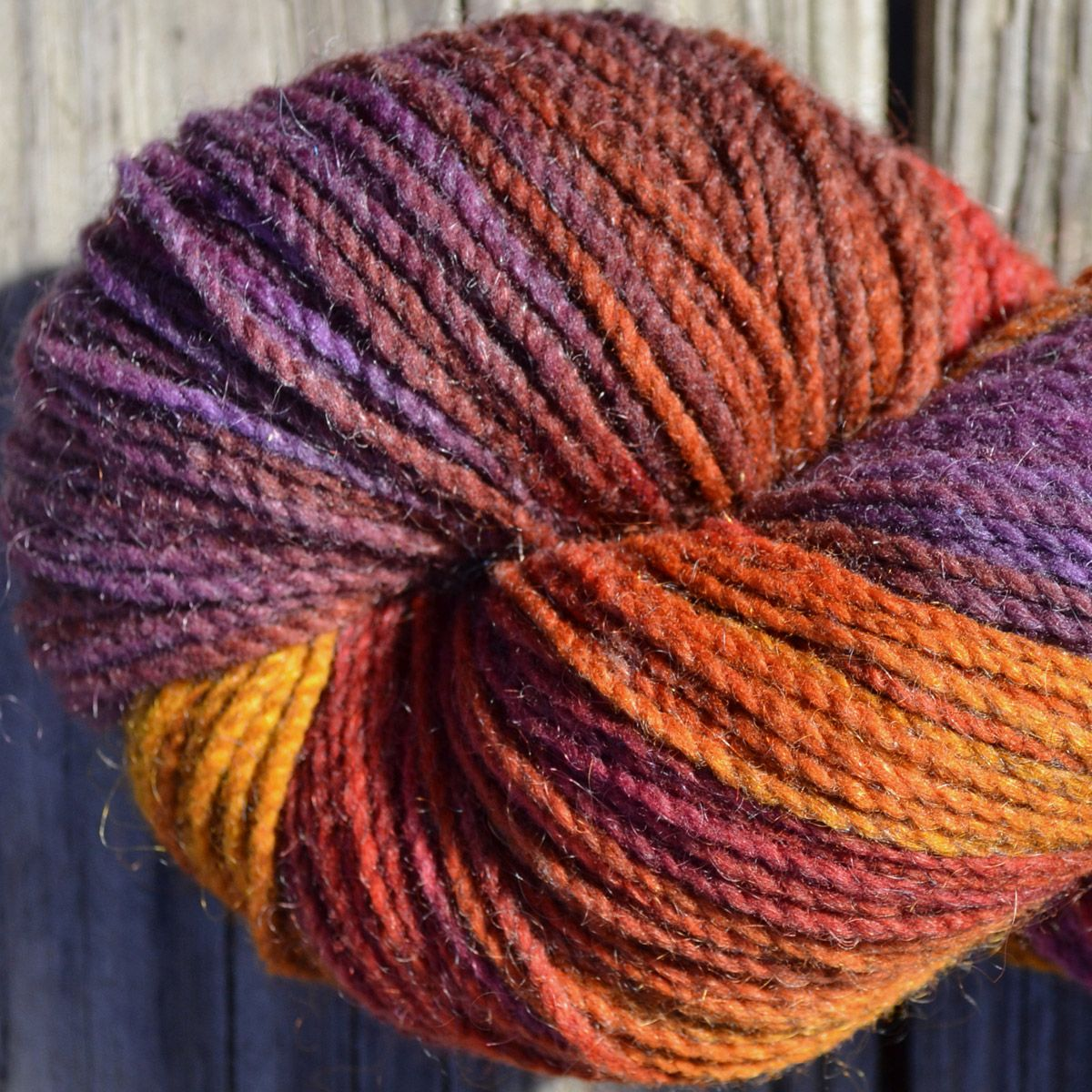 Appalachian Autumn Hand-Painted Yarn