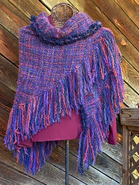 Royale HandWoven Shawl -- SOLD !!
