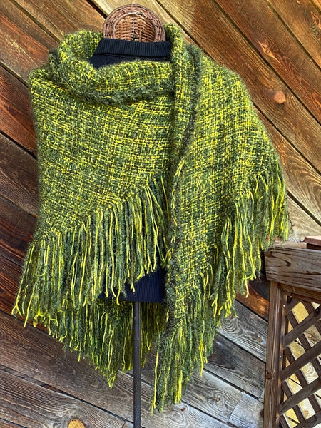 SpringTime HandWoven Shawl - in stock !