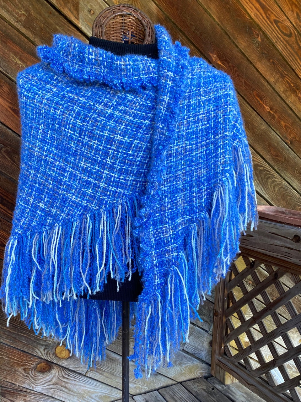 Arctic Air HandWoven Shawl -- in stock !