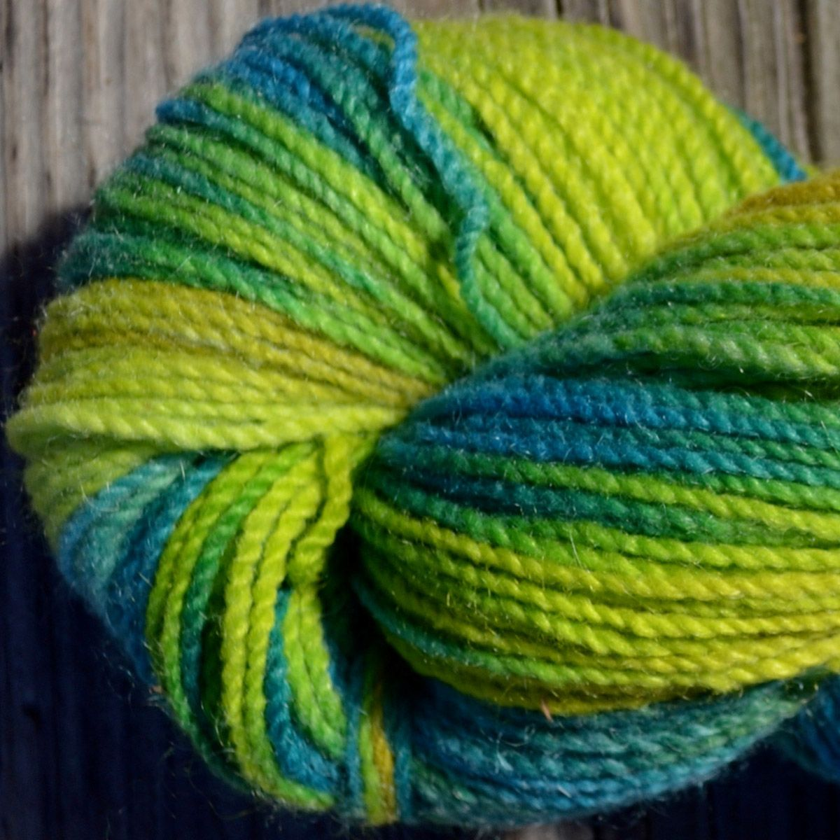 UnderWater SunLight Hand-Painted Yarn