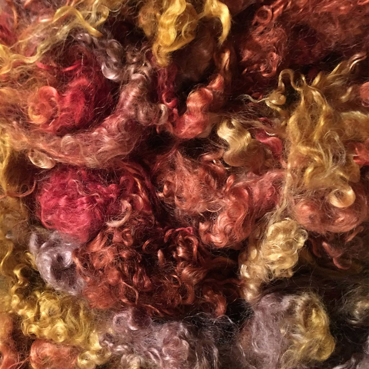 Fallen Leaves Mohair Locks