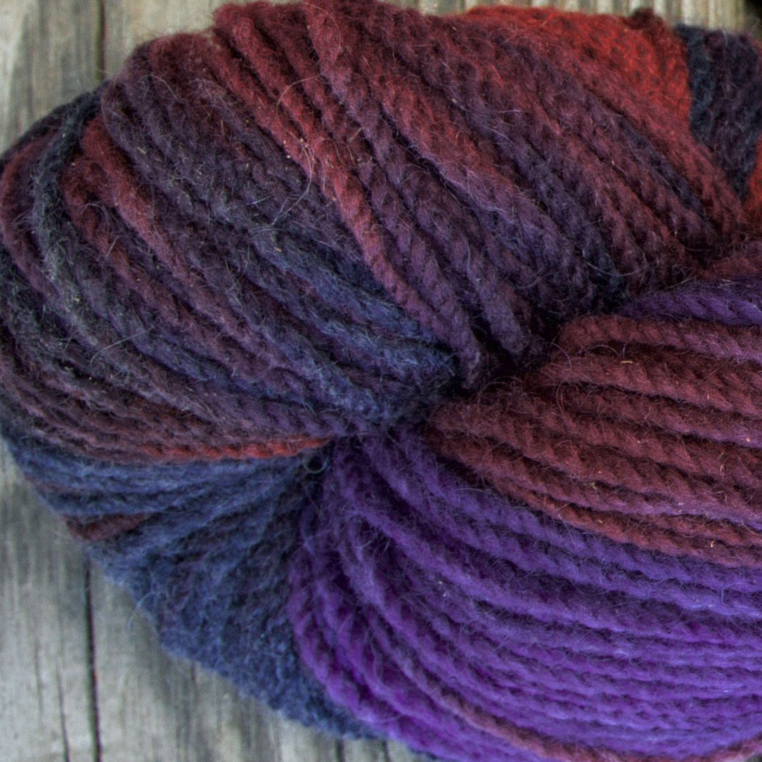 The Berries! Hand-Painted Yarn