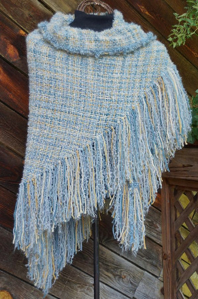 Serendipity HandWoven Shawl  - in stock !