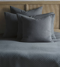 Teal Geometric Rustic 100% Cotton Coverlet With Squared Corners