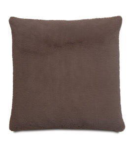 Cafe Lodge Solid Faux Fur Knife Edge Lumbar Pillow