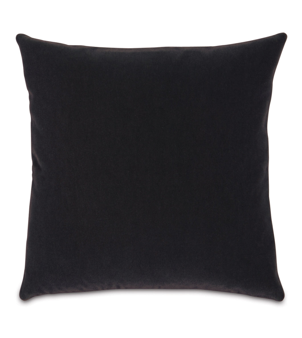 Blackhawk Angora Mohair Throw Pillow Knife Edge