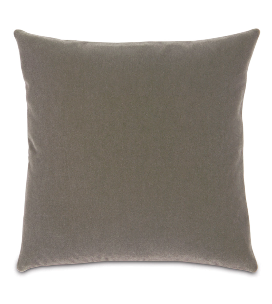 Keystone Mohair Throw Pillow Knife Edge