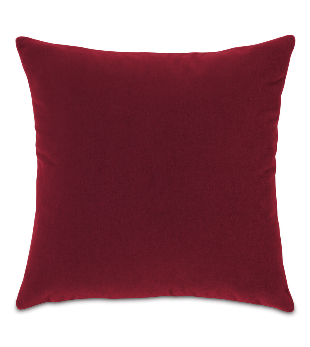 Rubiat Mohair Throw Pillow Knife Edge
