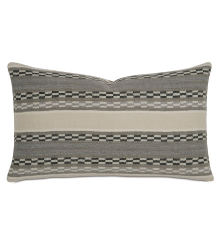 Telluride Striped Wool Accent Pillow 13