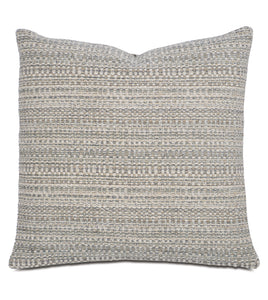 "Telluride Rustic Textured Accent Pillow 22""x22"""