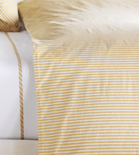 Newman Wheat Mountain Lodge Stripe Fine Linen Duvet Cover