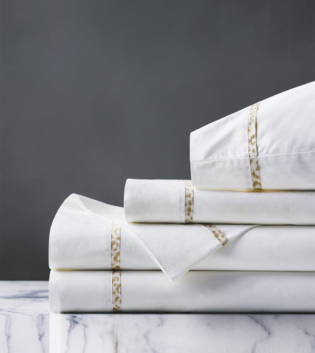 Tanner Sand Luxury Fine Linen Sheet Set