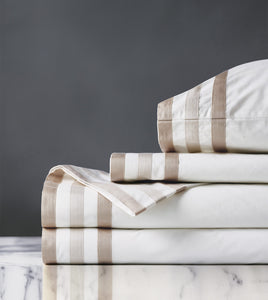 Watermill Taupe Luxury Fine Linen Sheet Set