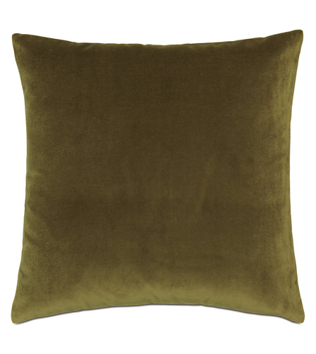 Plush Citrine Decorative Pillow