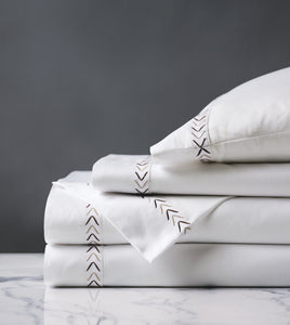 Miri Coffee Luxury Fine Linen Sheet Set