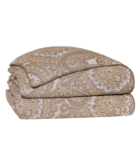 Powell Neutral Tone Classic Paisley Comforter