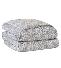 Amara Taupe Lodge Mountain Abstract Cotton Comforter