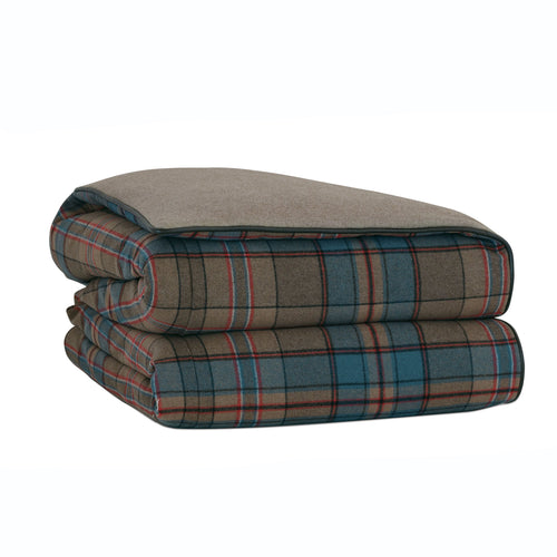 Rudy Wool Plaid Duvet