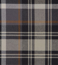 "Gray Rustic Cabin Plaid 100% Cotton Euro Sham With Welt 27""x27"""