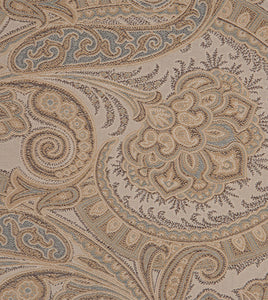 Powell Neutral Tone Classic Paisley Duvet Cover