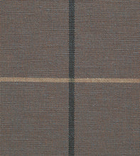 "Chalet Alpine Slate Gray Plaid Log Cabin  Standard Sham Self Flange 20""x27"""