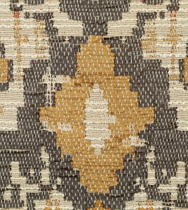 "Chalet Alpine Bark Rustic Cabin Tribal Jacquard Euro Sham With Cord 27""x27"""