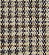 "Beige Houndstooth Mountain Lodge Studded Throw Pillow 20""x20"""