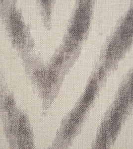 "Fletcher Modern Animal Print Linen Flange King Sham in Beige 21""×37"""